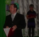 Выступление директора школы Писарева А.Ю.